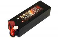 Аккумулятор полимерно-литиевый Giant Power (Dinogy) G2.0 Li-Pol 7500mAh 11.1V 3S 100C Hardcase 38x46x139 T-Plug 29807