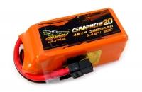 Аккумулятор полимерно-литиевый Dinogy ULTRA G2.0 Li-Pol 1300mAh 14.8V 4S 80C XT60 70x34x33мм 29804
