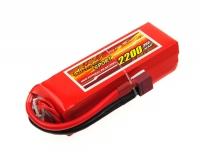 Аккумулятор полимерно-литиевый Dinogy Li-Pol 2200mAh 14.8V 4S 30C 29x34x104мм T-Plug 29768