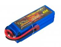 Аккумулятор полимерно-литиевый Dinogy Li-Pol 3300mAh 22.2V 6S 65C 43x42x133мм T-Plug 29777