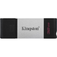 USB флеш накопитель Kingston 32GB DataTraveler 80 USB 3.2/Type-C (DT80/32GB). 48146