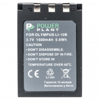 Аккумулятор к фото/видео PowerPlant Olympus LI-10B, Li-12B (DV00DV1056). 47366
