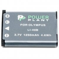 Аккумулятор к фото/видео PowerPlant Olympus Li-40B, Li-42B, D-Li63, D-Li108, NP-45, NP-80, NP-82 (DV00DV1090). 44602