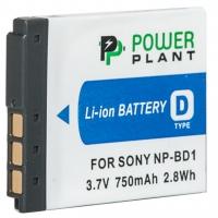 Аккумулятор к фото/видео PowerPlant Sony NP-BD1, NP-FD1 (DV00DV1204). 44610