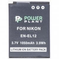 Аккумулятор к фото/видео PowerPlant Nikon EN-EL12 (DV00DV1242). 44599