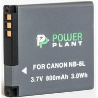 Аккумулятор к фото/видео PowerPlant Canon NB-8L (DV00DV1256). 44595