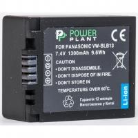 Аккумулятор к фото/видео PowerPlant Panasonic DMW-BLB13 (DV00DV1263). 44604