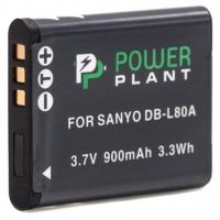 Аккумулятор к фото/видео PowerPlant Sanyo DB-L80, D-Li88 (DV00DV1289). 44609