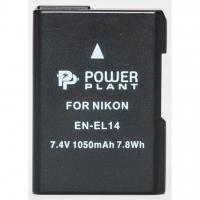 Аккумулятор к фото/видео PowerPlant Nikon EN-EL14 Chip (D3100, D3200, D5100) (DV00DV1290). 44600