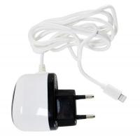 Зарядное устройство PowerPlant Lightning for iPhone 5, 1A (DV00DV5040). 44945