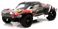 Машинка на радиоуправлении гоночный джип вездеход модель Шорт 1:10 Himoto Spatha E10SC Brushed (черный) 29725