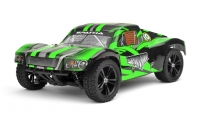 Машинка на радиоуправлении гоночный джип вездеход модель Шорт 1:10 Himoto Spatha E10SC Brushed (зеленый) 29723