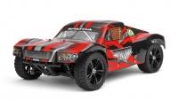 Машинка на радиоуправлении гоночный джип вездеход модель Шорт 1:10 Himoto Spatha E10SC Brushed (красный) 29724