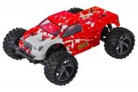 Машинка на радиоуправлении вездеход джип модель Монстр 1:18 Himoto Mastadon E18MT Brushed (красный) 29644