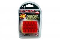 Пульки резиновые мягкие для игрушечного пистолета Edison Giocattoli калибр 8мм 40шт (410/42) 29911