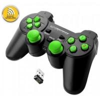 Геймпад Esperanza Gladiator PC/PS3 Black-Green (EGG108G). 44130