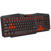 Клавиатура Esperanza EGK201 Red USB LED (EGK201RUA). 42559