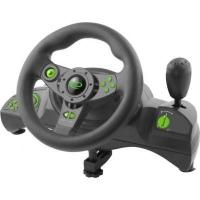 Руль Esperanza PC/PS3 Black-Green (EGW102). 44147