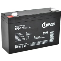 Батарея к ИБП Europower 6В 12Ач (EP6-12F1). 46586