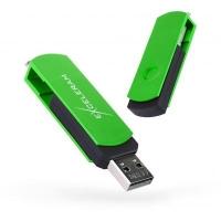 USB флеш накопитель eXceleram 32GB P2 Series Green/Black USB 2.0 (EXP2U2GRB32). 48142