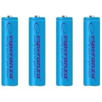 Аккумулятор Esperanza AA 2000mAh Ni-MH * 4 blue (EZA104B). 47369