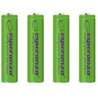 Аккумулятор Esperanza AA 2000mAh Ni-MH * 4 green (EZA104G). 44645