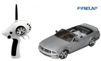 Машинка на радиоуправлении модель 1:28 Firelap IW02M-A Ford Mustang 2WD (серый) 29729