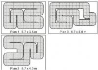 Трек 24 м2 Firelap LXX-2 для автомоделей 1:28. 30742