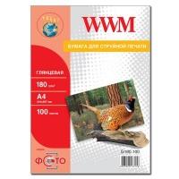 Бумага WWM A4 (G180.100). 47202