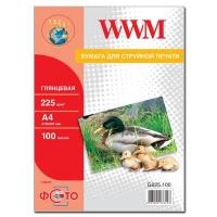 Бумага WWM A4 (G225.100). 47197