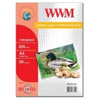 Бумага WWM A4 (G225.50). 47200