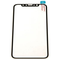 Стекло защитное PowerPlant Apple iPhone X Silk Print 3D (GL602254). 45038