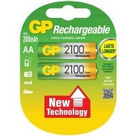 Аккумулятор Gp AA R6 2100mAh 1,2V * 2 (GP210AAHC-2UEC2 / 4891199055928). 47371