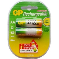 Аккумулятор AA Gp (GP270AAHC-2PL2) R6 2700mAh * 2. 44637