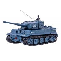 Радиоуправляемая игрушка Great Wall Toys Танк микро р/у 1:72 Tiger со звуком (серый) (GWT2117-4). 47741