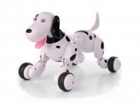 Машинка робот-собака на радиоуправлении Happy Cow Smart Dog (черный) 30037