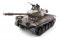 Танк на радиоуправлении с пневмопушкой и инфракрасным боем модель 1:16 Heng Long Bulldog M41A3 (Upgrade) 30154