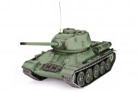 Танк на радиоуправлении с пневмопушкой и инфракрасным боем модель 1:16 Heng Long T-34 (Upgrade) 30156