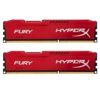 Модуль памяти для компьютера HyperX DDR3 16Gb (2x8GB) 1600 MHz HyperX Fury Red (Kingston Fury) (HX316C10FRK2/16). 42926