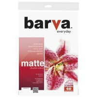 Бумага Barva A4 Everyday matted double-sided 220г 60с (IP-BE220-176). 48497