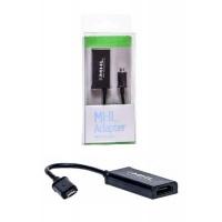 Переходник PowerPlant (KD00AS1240) micro USB to HDMI. 44394