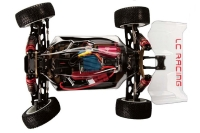 Набор для сборки машинки на радиоуправлении вездеход  модель Багги 1:14 LC Racing 1H (KIT PRO) 29746