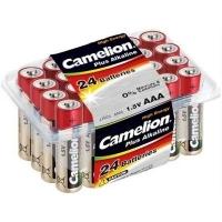 Батарейка Camelion Plus Alkaline LR03 * 24 (LR03-PB24). 47395