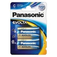 Батарейка Panasonic C LR14 Evolta * 2 (LR14EGE/2BP). 47388