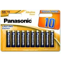Батарейка Panasonic LR06 Alkaline Power * 10 (LR6REB/10BW). 47381