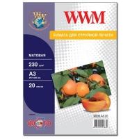 Бумага WWM A3 (M230.A3.20). 47199