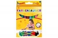 Набор фломастеров волшебные MALINOS Farbenzauber светлые рисуют по тёмным 10 (5+5) шт 30082