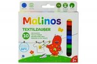 Набор фломастеров текстильные Malinos Textil 10 шт 30086
