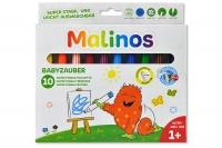 Набор фломастеров на водной основе MALINOS Babyzauber для малышей 10 шт  30085