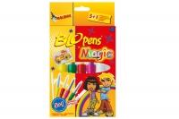 Набор 5шт безопасные фломастеры-аэрографы волшебные MALINOS BLOpens Magic 30090